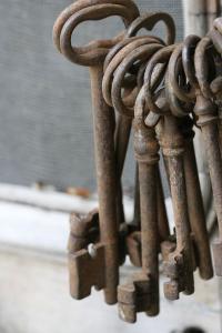 Old Key Chain